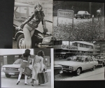Audi  100 vier Original Presse-Photos 1970 (0587)