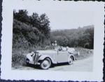 Adler Trumpf Junior Cabriolet 1933 Original Photo (0704)