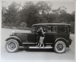Nash 400 Limousine 1929 Original Photo (0735)