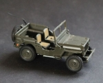 DCC Master Willys Jeep 1948 Metallmodell (3978)