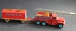 Corgi Toys International Truck Chipperfield Circus mit Anhänger 1969 Metall (4199)
