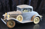 Hubley Toys Ford A Coupe 1930 Metallmodell (1900)