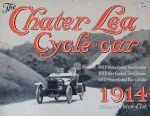 Chater Lea Cycle Car 8 HP 1914 Automobilprospekt (4603)