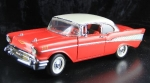 Franklin Mint Chevrolet Bel Air Metallmodell 1957 (2090)