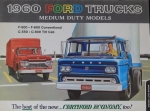 Ford Trucks Medium Duty 1960 Lastwagenprospekt (4091)