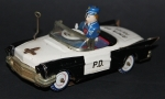 "Yoshiya Chevrolet ""Bump'n go Police-Car"" Japan-Blechmodell 1963 (5150)"