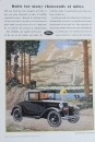 Ford Model A Sport Coupe 1930 Werbeanzeige (1290)