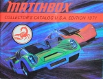 "Matchbox ""Collectors Catalog USA"" Spielzeugprospekt 1971 (1116)"