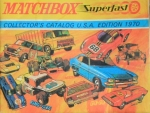 "Matchbox ""Collectors Catalog USA"" Spielzeugprospekt 1970 (1109)"