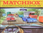 "Matchbox ""Collectors Catalog USA"" Spielzeugprospekt 1969 (1105)"